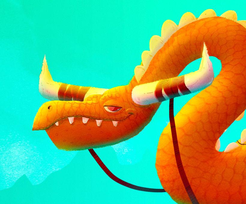 Character Design Challenge - Dragones 5