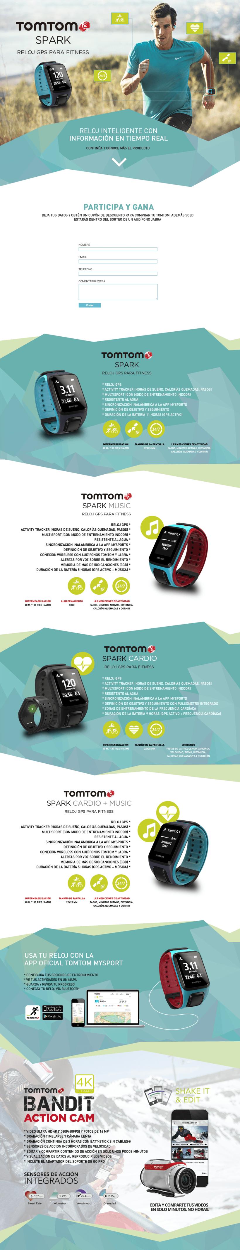 Campaña Digital Tom Tom  1