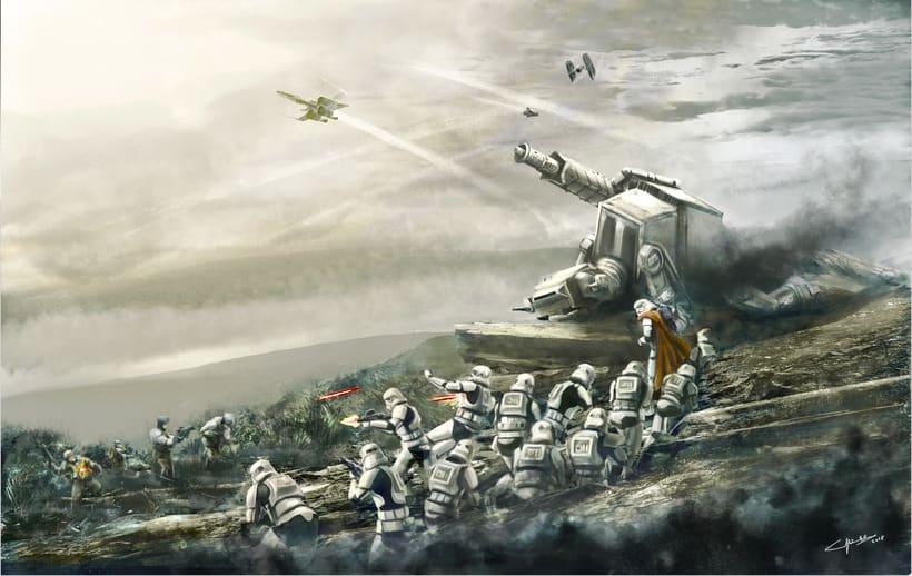 Star Wars Battle front concept art -1