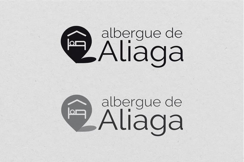 Diseño identidad corporativa para Albergue de Aliaga 1