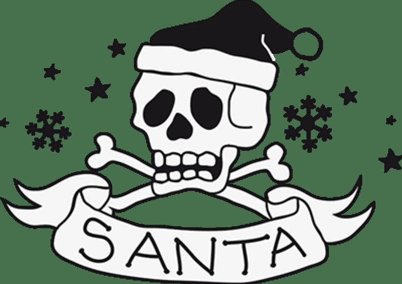 Santa Tattoo -1