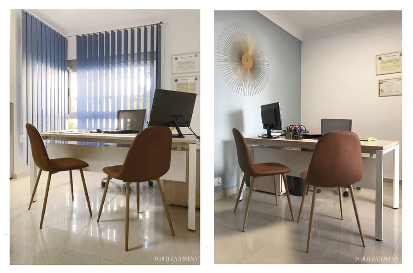 Diseño Oficina Asesoria-Gestoria Oliver-Torrens, Palma de Mallorca #interiordesign #officedesign 0
