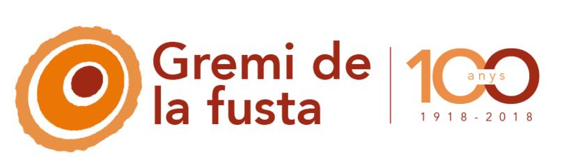 Logo 100 anys Gremi de la fusta 0