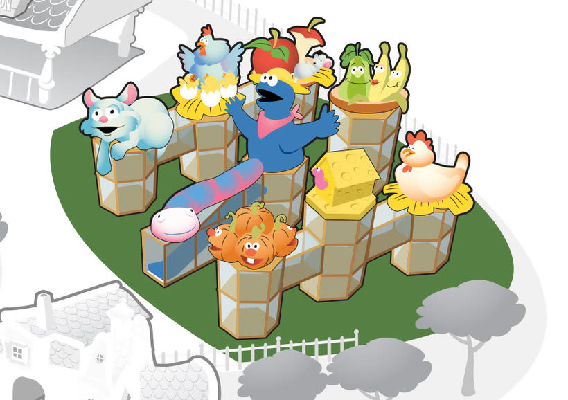 Mapa Sésamo Aventura 5