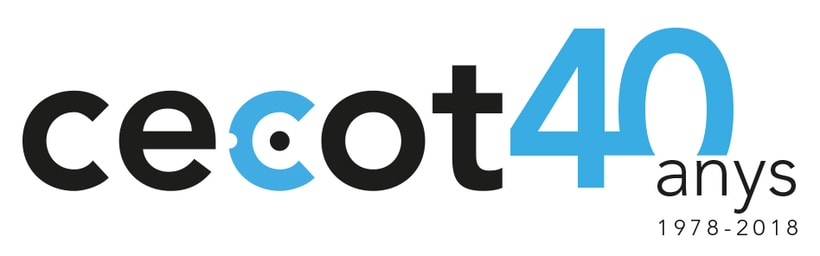 Logo 40 anys Cecot 0