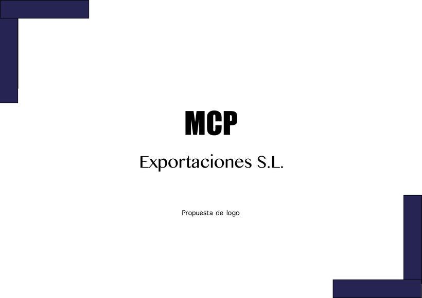 1ªpropuesta MCP exportaciones S.L. -1