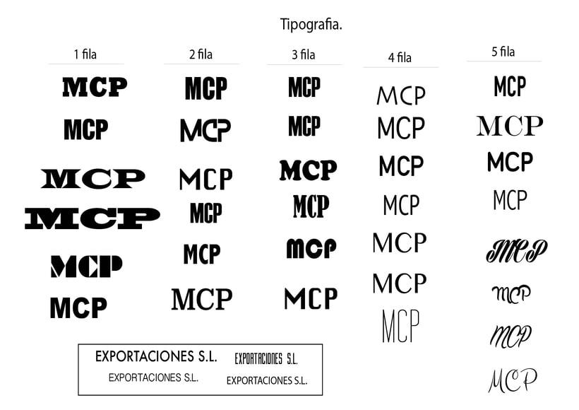 1ªpropuesta MCP exportaciones S.L. 2