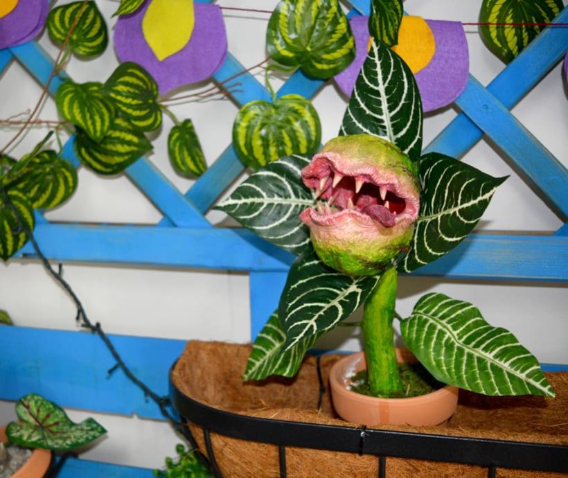 Plantas carnívoras artesanales 6