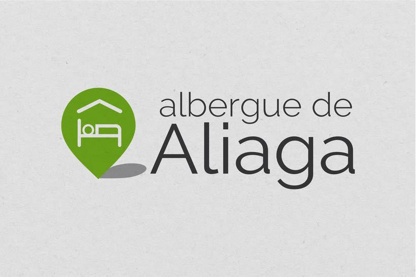 Diseño identidad corporativa para Albergue de Aliaga 0