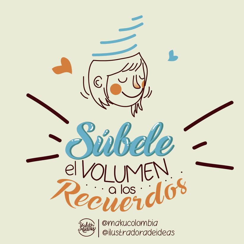 Súbele el volumen a los recuerdos  -1