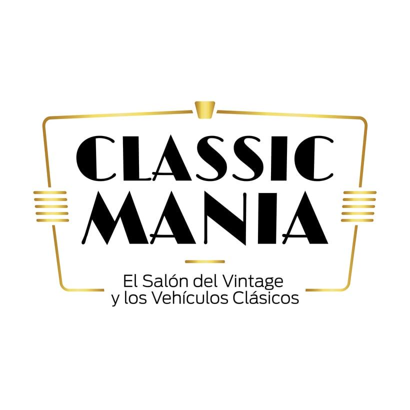 Logotipo Classic Mania 0