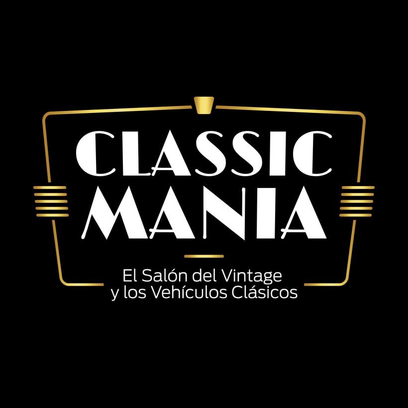 Logotipo Classic Mania 1