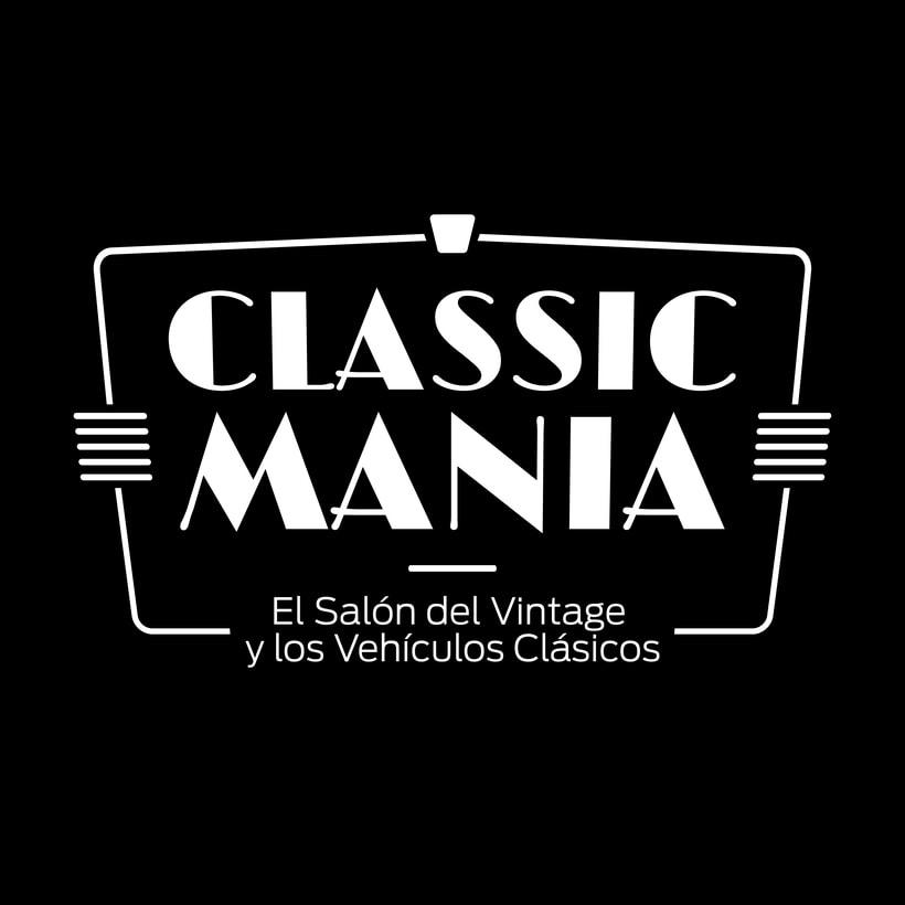 Logotipo Classic Mania 3