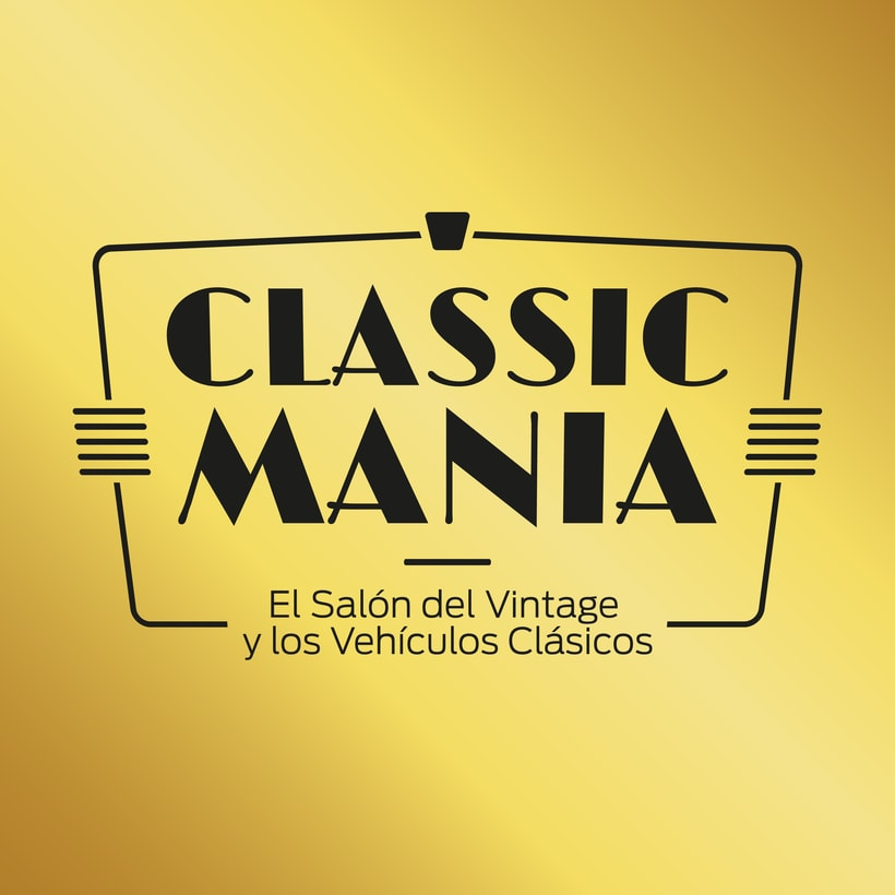 Logotipo Classic Mania 4