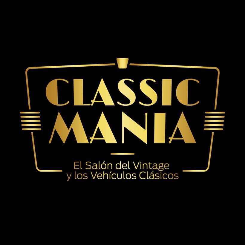 Logotipo Classic Mania 5