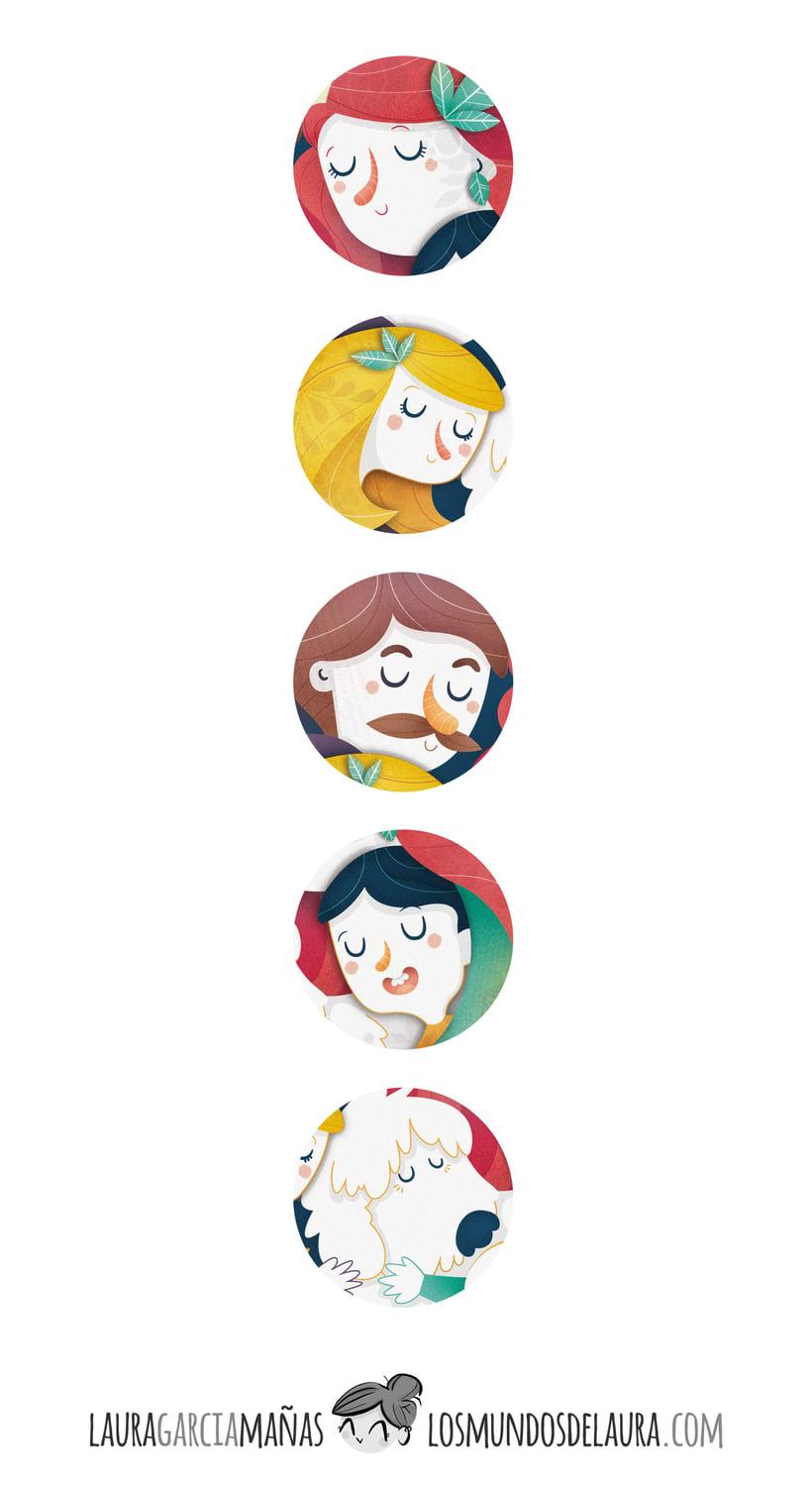 El Convivenciario. Cuentos con valor. Ilustración infantil 3
