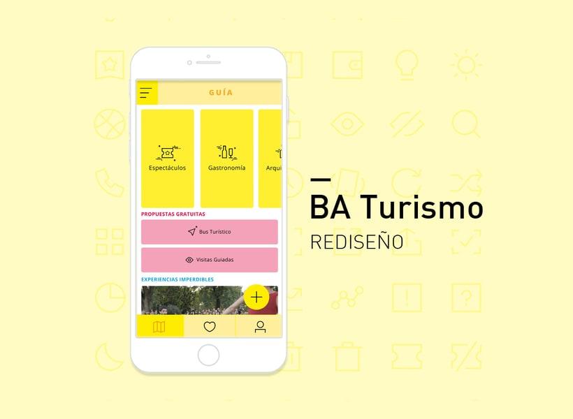 BA Turismo - app redesign 0