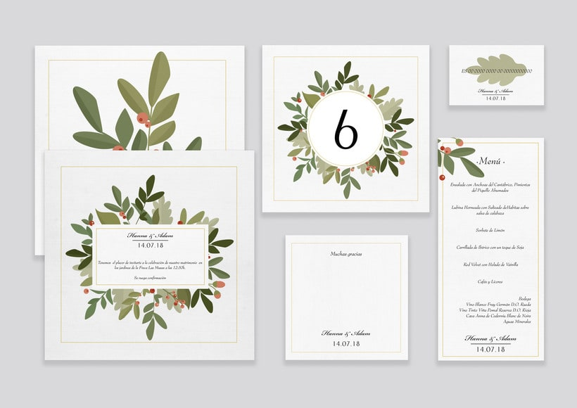 L.O.V.E_ Wedding Stationery 1