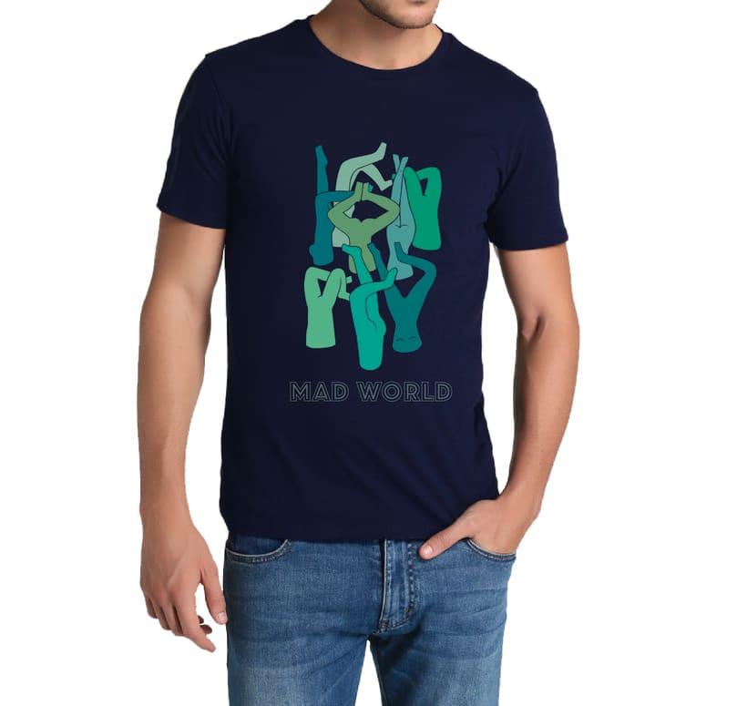 Diseño gráfico para camiseta 2