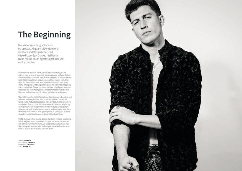 Mi Proyecto del curso: Fotografia editorial para revistas 1