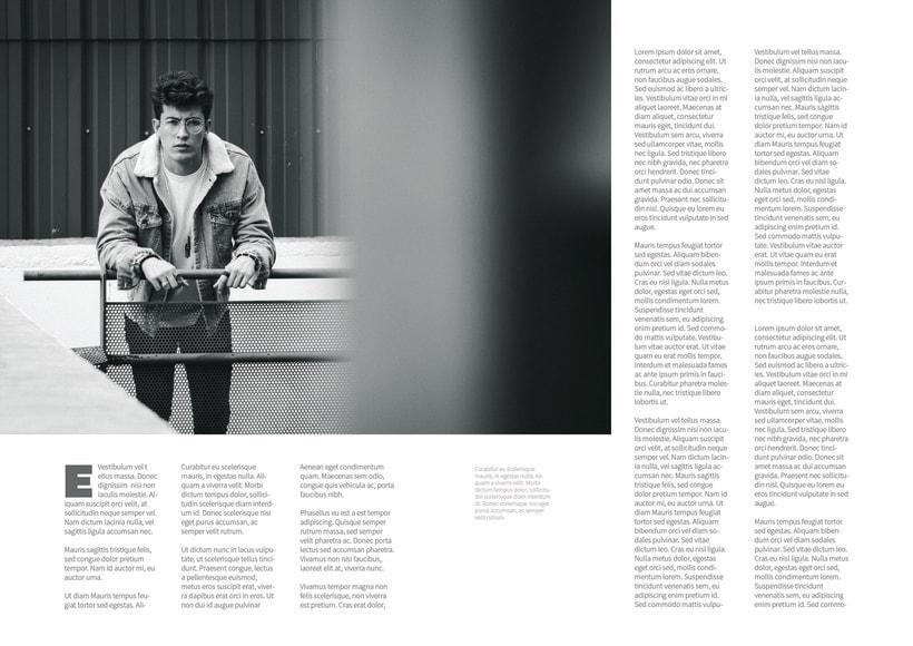 Mi Proyecto del curso: Fotografia editorial para revistas 2