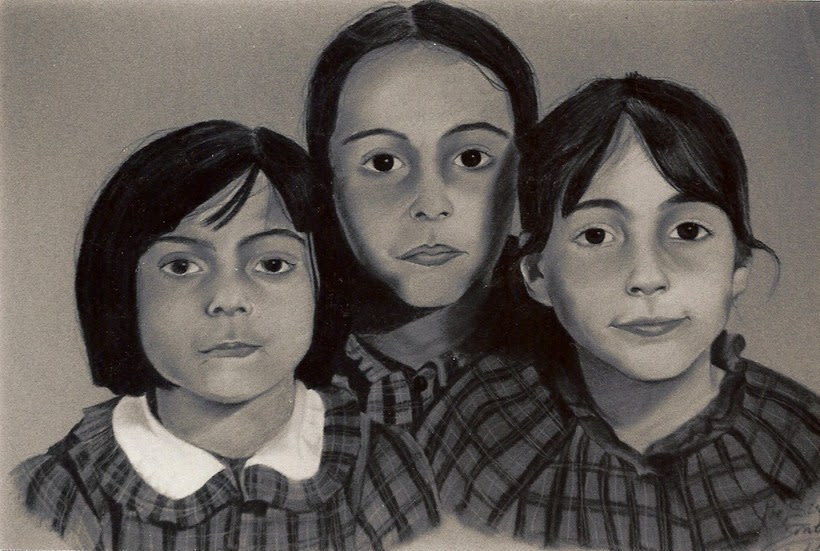 Retratos por encargo a pastel,acuarela,carboncillo,grafito... 5