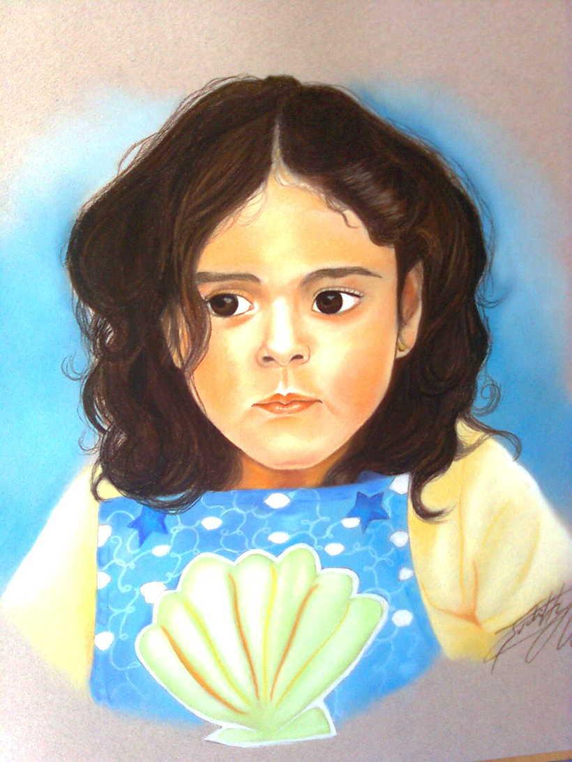 Retratos por encargo a pastel,acuarela,carboncillo,grafito... 11