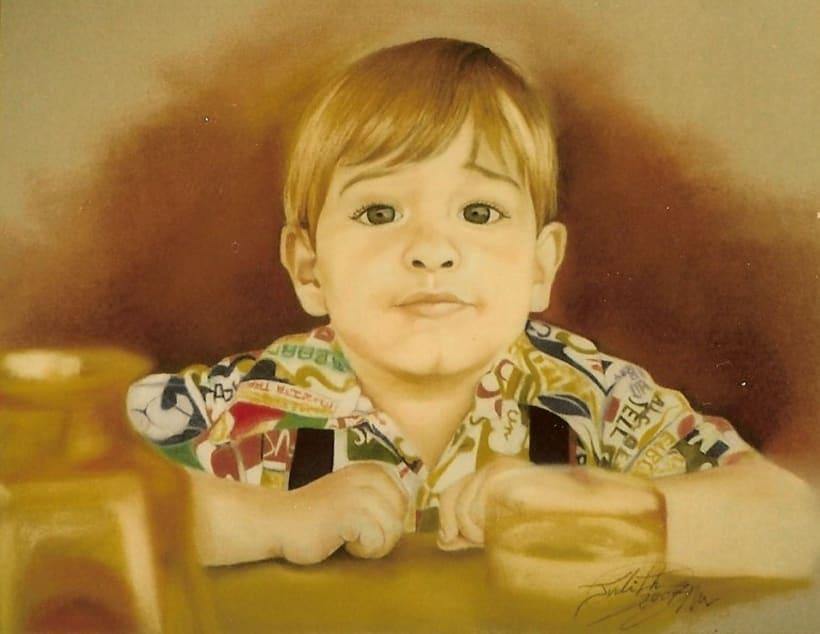 Retratos por encargo a pastel,acuarela,carboncillo,grafito... 12