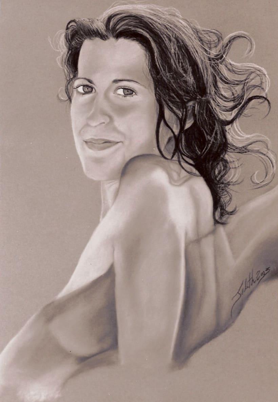 Retratos por encargo a pastel,acuarela,carboncillo,grafito... 13