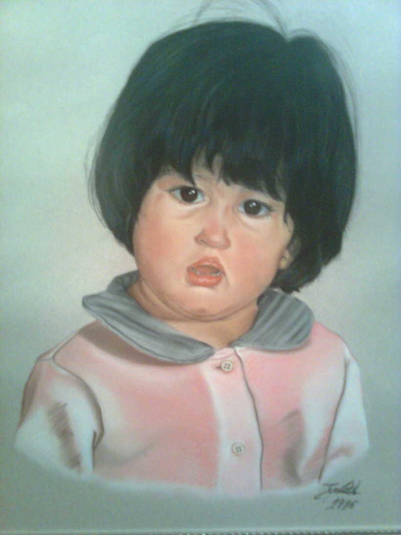 Retratos por encargo a pastel,acuarela,carboncillo,grafito... 15