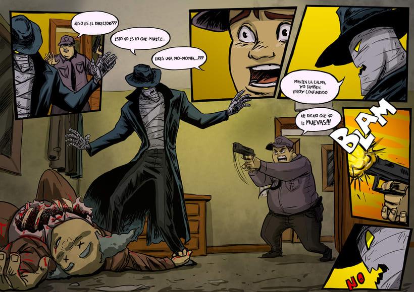 nuevas paginas de Detective Misterio 21