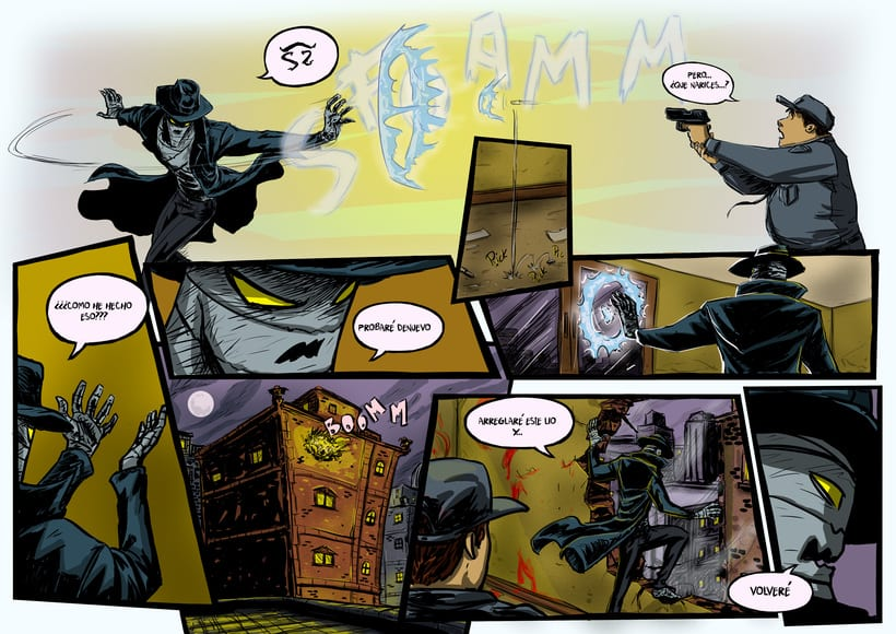 nuevas paginas de Detective Misterio 22