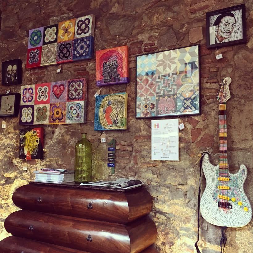 Gabriela Trejo en Alsur café 1