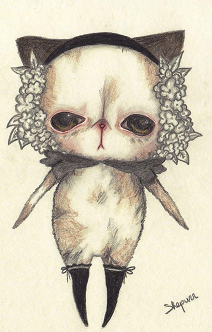 Ilustración Floral Sadness 0