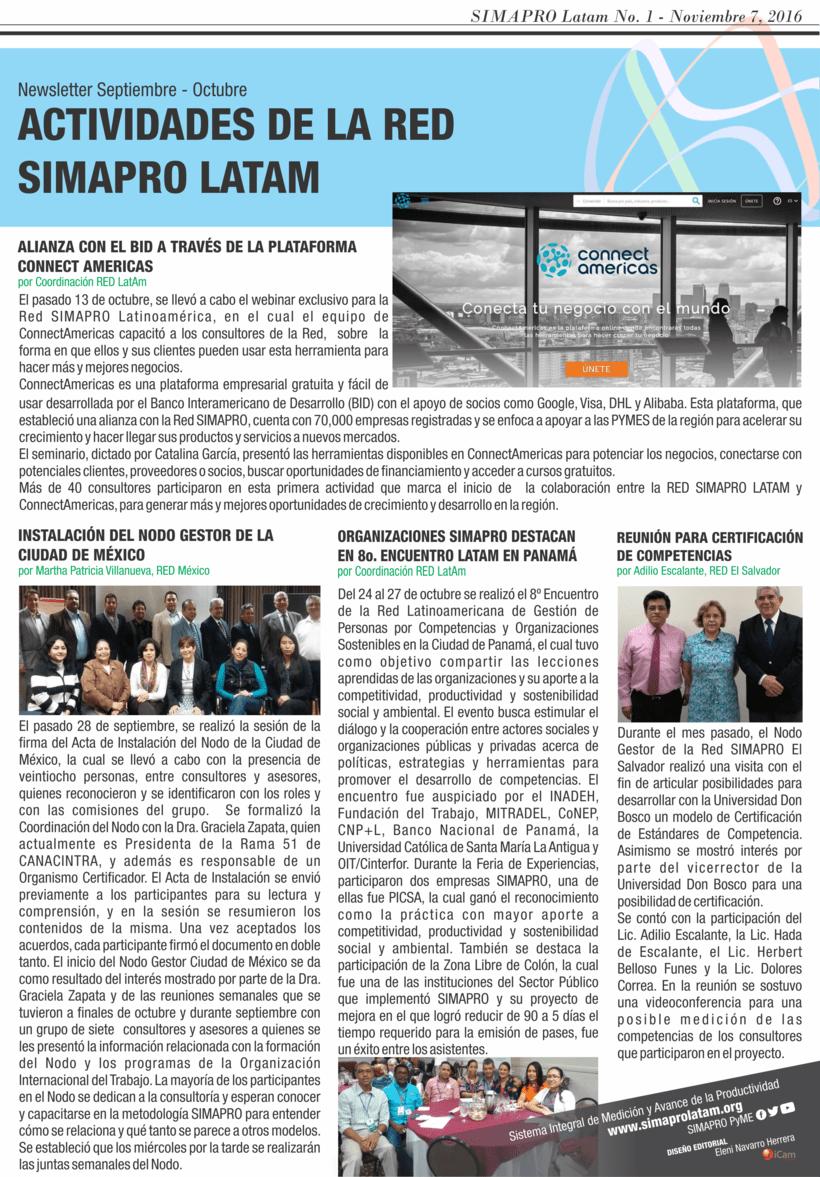 Newsletter para difusión de Proyecto -1
