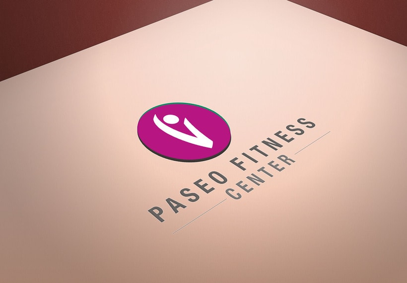 Rediseño logotipo Paseo Fitness Center -1