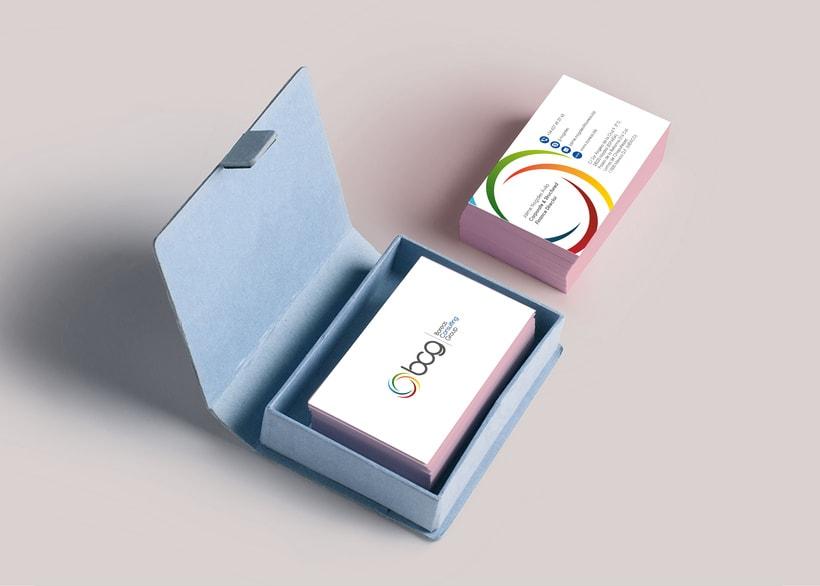Logotipo y papelería / Boreas Consulting Group -1