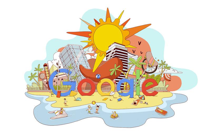 Barcelona Google Doodles 3