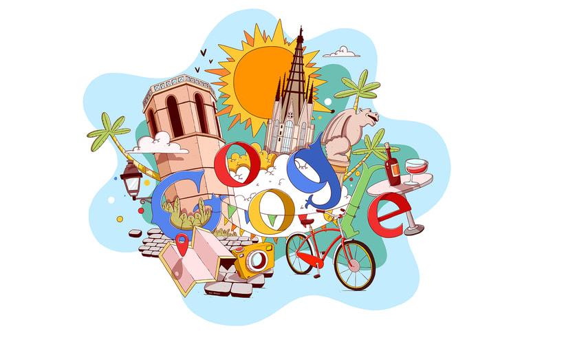 Barcelona Google Doodles 4