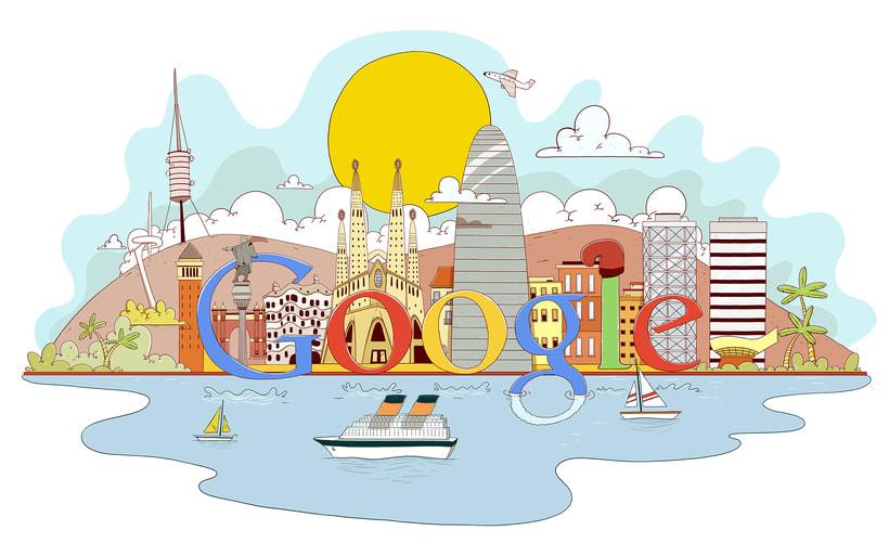 Barcelona Google Doodles 2