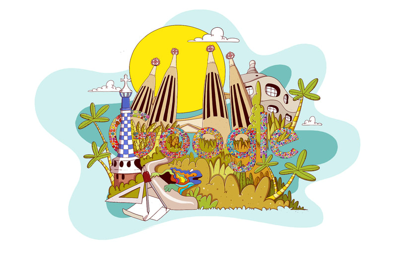 Barcelona Google Doodles 6