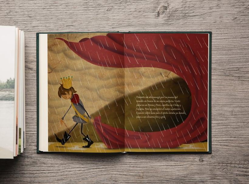 -La princesa y el guisante-  Mi Proyecto del curso: Introducción a la ilustración infantil 0