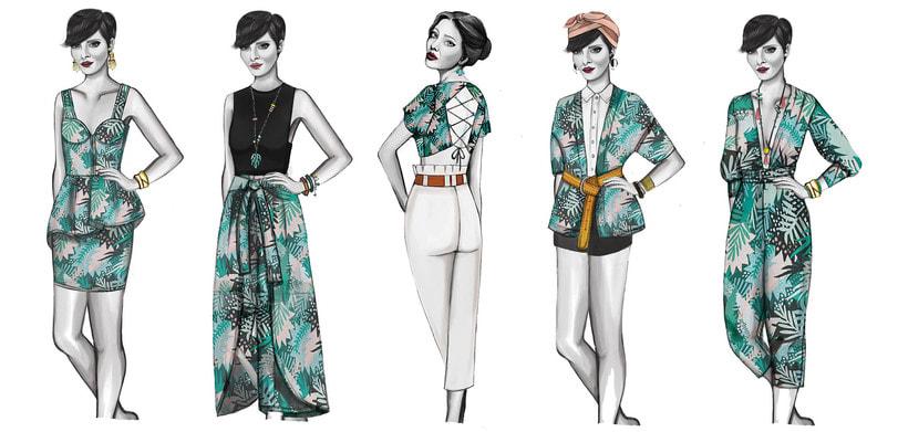HIBISCUS- Propuesta de colección cápsula para Zara Woman SS2017 4