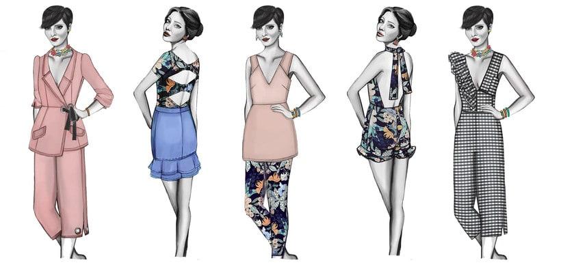 HIBISCUS- Propuesta de colección cápsula para Zara Woman SS2017 12