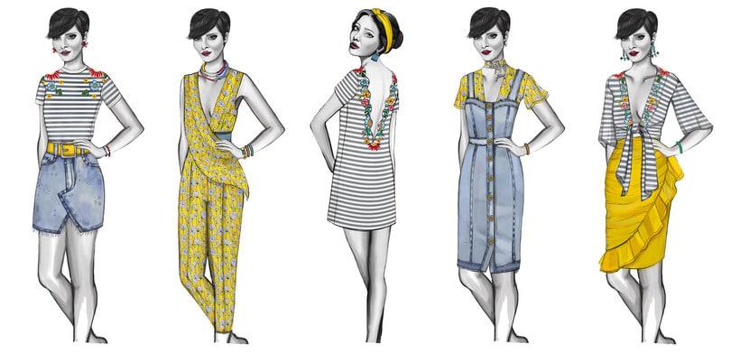HIBISCUS- Propuesta de colección cápsula para Zara Woman SS2017 6