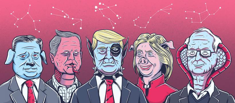 Zodiaco y elecciones USA 1