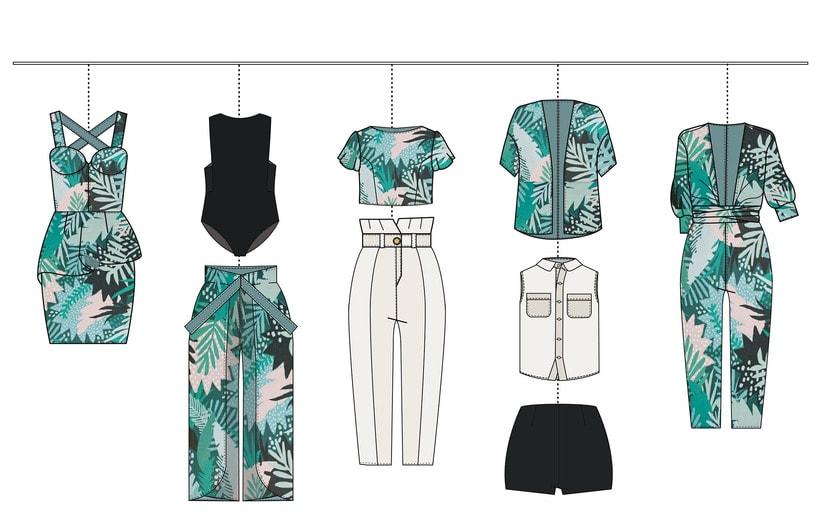 HIBISCUS- Propuesta de colección cápsula para Zara Woman SS2017 5