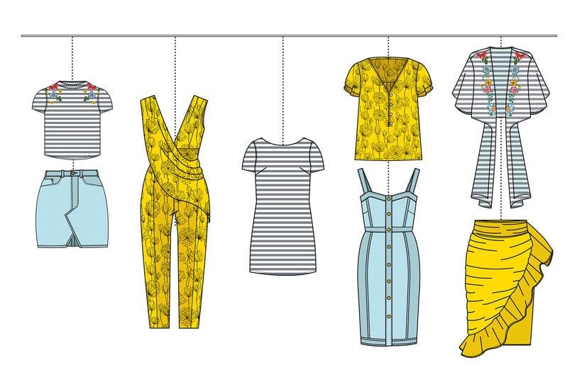 HIBISCUS- Propuesta de colección cápsula para Zara Woman SS2017 7