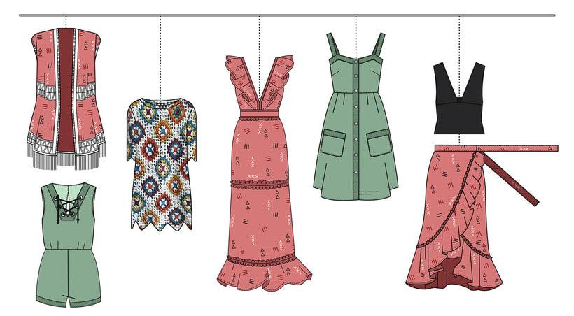 HIBISCUS- Propuesta de colección cápsula para Zara Woman SS2017 9