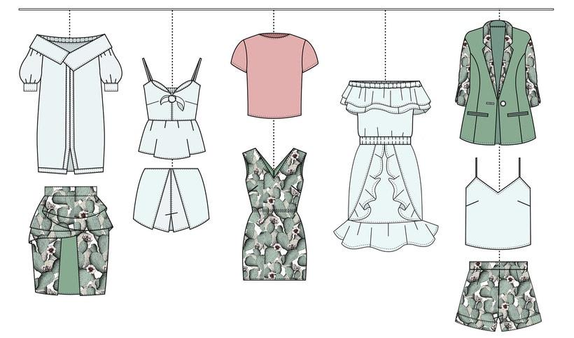 HIBISCUS- Propuesta de colección cápsula para Zara Woman SS2017 11